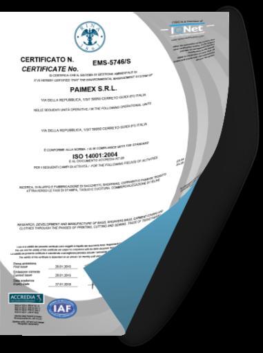 Certificazione ISO14001